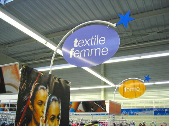 Textile stores